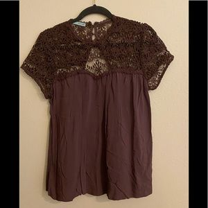Women's Maurices Blouse Brown